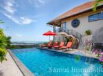 Villa + appartement à vendre - 5 chambres - vue sur mer - Chaweng - Koh Samui108