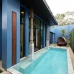 Stylish pool villa project