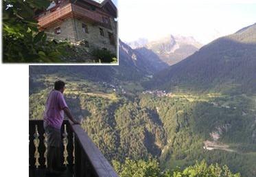 Villa Les Arcs France:: Luxury Summer Villa - Large Villa in Alps - Villa sleeps 12 in French Alps. La Creme Anglaise