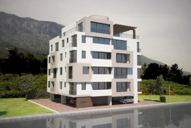 Building new apartments at great prices near Kyrenia city
