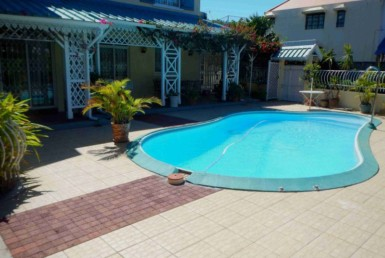 Pool-Villa for rent in Flic en Flac on Mauritius