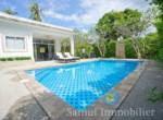 Villa + appartement à vendre - 3 chambres - cocoteraie - Maenam - Koh Samui108
