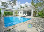 Villa + appartement à vendre - 3 chambres - cocoteraie - Maenam - Koh Samui109