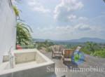 Villa à vendre - 3 chambres - vue sur mer - Hua Thanon - Koh Samui114